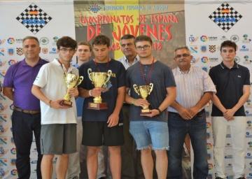 Campeonato de España Sub 18: Francisco Orantes subcampeón y Manuel Muñoz tercero.