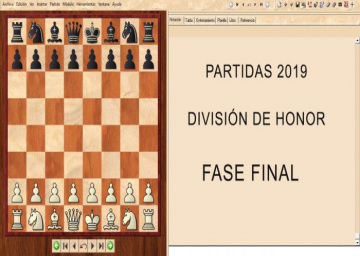 Partidas División de Honor 2019 - Fase Final