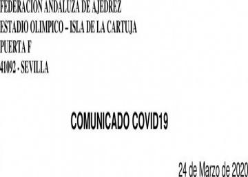 Comunicado COVID19 - (24 Marzo)