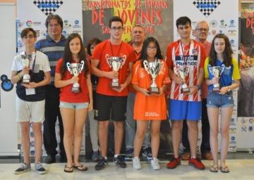 Campeonato de España Sub 16 Rápido.