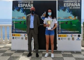 La malagueña Claudia Hernández Téllez Subcampeona de España Sub 14.