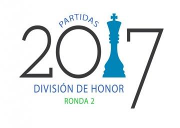 Partidas División de Honor. Ronda 2