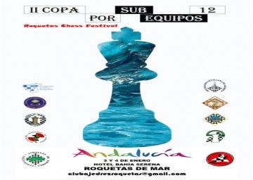 Convocatoria de la Copa Sub-12 por equipos de Andalucía 2020.