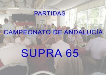 Partidas Cto Andalucía Supra 65 - 2019