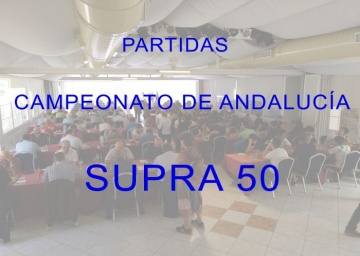 Partidas Cto Andalucía Supra 50 - 2019