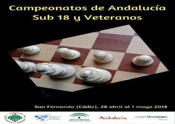 Convocatoria de los Campeonatos de Andalucía de Veteranos 2018.