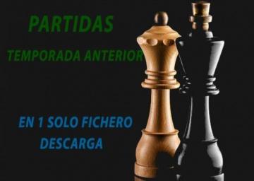 Partidas de los Campeonatos de Andalucía 2018.