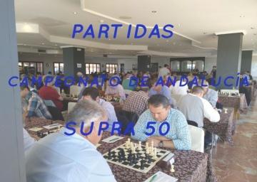 Partidas Cto Andalucía Supra 50 - 2018