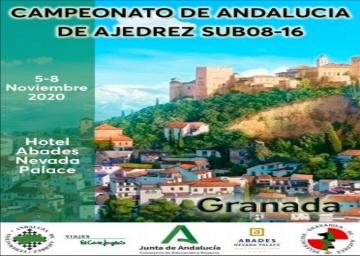 Convocatoria de los Campeonatos de Andalucía de Ajedrez Sub08-16.