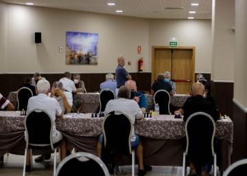 Comienzo del Cto de Andalucía de Veteranos.