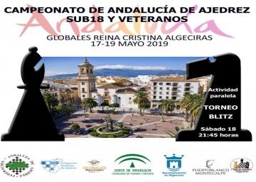 Convocatoria del Campeonato de Andalucía Sub 18 - 2019.