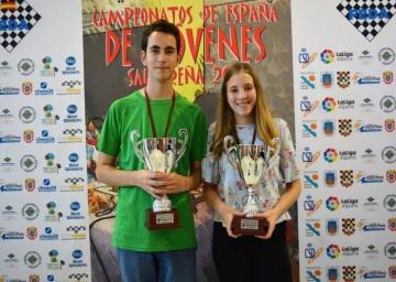 Campeonato de España Sub 18 Rápido. Ana Redondo Campeona.