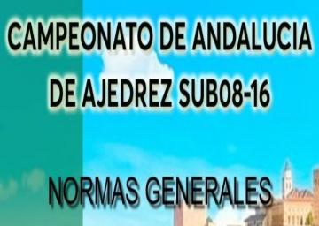 Normas Generales Cto de Andalucía Sub 08-10-12-14-16, 2020