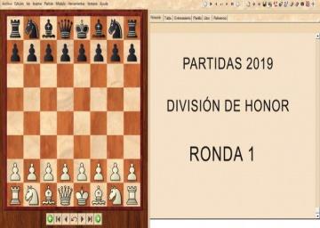 Partidas División de Honor 2019 - Ronda 1